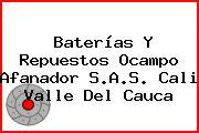 Baterías Y Repuestos Ocampo Afanador S.A.S. Cali Valle Del Cauca