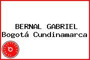 BERNAL GABRIEL Bogotá Cundinamarca