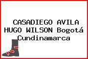 CASADIEGO AVILA HUGO WILSON Bogotá Cundinamarca