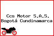 Ccs Motor S.A.S. Bogotá Cundinamarca
