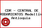 CDR - CENTRAL DE RODAMIENTOS Medellín Antioquia