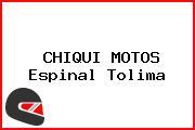 CHIQUI MOTOS Espinal Tolima