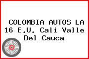 Colombia Autos La 16 E.U. Cali Valle Del Cauca
