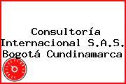 Consultoría Internacional S.A.S. Bogotá Cundinamarca
