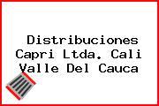 Distribuciones Capri Ltda. Cali Valle Del Cauca