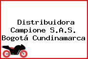 Distribuidora Campione S.A.S. Bogotá Cundinamarca