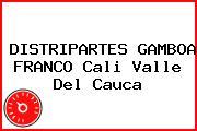 DISTRIPARTES GAMBOA FRANCO Cali Valle Del Cauca