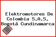 Elektromotores De Colombia S.A.S. Bogotá Cundinamarca
