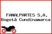 FANALPARTES S.A. Bogotá Cundinamarca