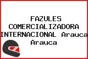 FAZULES COMERCIALIZADORA INTERNACIONAL Arauca Arauca