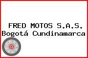 FRED MOTOS S.A.S. Bogotá Cundinamarca