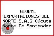 GLOBAL EXPORTACIONES DEL NORTE S.A.S Cúcuta Norte De Santander
