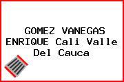 GOMEZ VANEGAS ENRIQUE Cali Valle Del Cauca