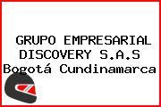 GRUPO EMPRESARIAL DISCOVERY S.A.S Bogotá Cundinamarca