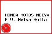 HONDA MOTOS NEIVA E.U. Neiva Huila