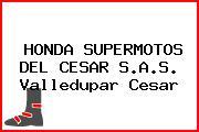 HONDA SUPERMOTOS DEL CESAR S.A.S. Valledupar Cesar