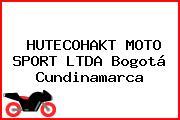 HUTECOHAKT MOTO SPORT LTDA Bogotá Cundinamarca
