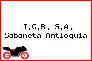 I.G.B. S.A. Sabaneta Antioquia
