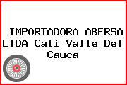 IMPORTADORA ABERSA LTDA Cali Valle Del Cauca