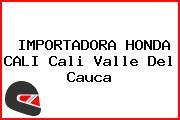IMPORTADORA HONDA CALI Cali Valle Del Cauca