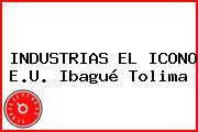 INDUSTRIAS EL ICONO E.U. Ibagué Tolima