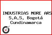 INDUSTRIAS MORE ARS S.A.S. Bogotá Cundinamarca