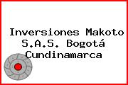 Inversiones Makoto S.A.S. Bogotá Cundinamarca