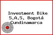 Investment Bike S.A.S. Bogotá Cundinamarca