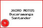 JAIRO MOTOS Bucaramanga Santander