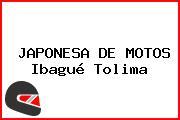 JAPONESA DE MOTOS Ibagué Tolima