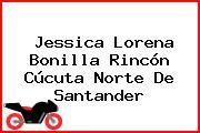 Jessica Lorena Bonilla Rincón Cúcuta Norte De Santander