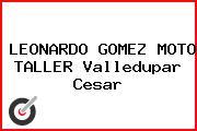 LEONARDO GOMEZ MOTO TALLER Valledupar Cesar