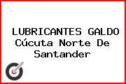 LUBRICANTES GALDO Cúcuta Norte De Santander