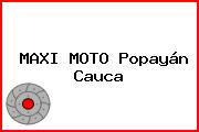 MAXI MOTO Popayán Cauca