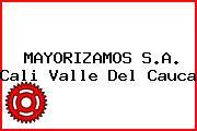 MAYORIZAMOS S.A. Cali Valle Del Cauca