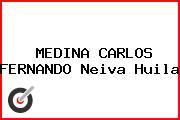 MEDINA CARLOS FERNANDO Neiva Huila