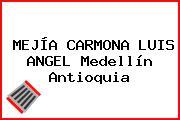 MEJÍA CARMONA LUIS ANGEL Medellín Antioquia