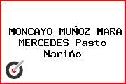 MONCAYO MUÑOZ MARA MERCEDES Pasto Nariño