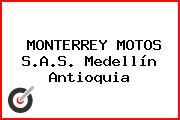 MONTERREY MOTOS S.A.S. Medellín Antioquia