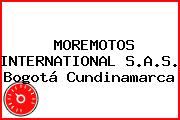MOREMOTOS INTERNATIONAL S.A.S. Bogotá Cundinamarca