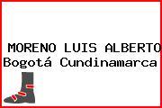 MORENO LUIS ALBERTO Bogotá Cundinamarca
