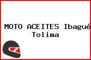 MOTO ACEITES Ibagué Tolima