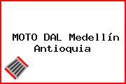 MOTO DAL Medellín Antioquia