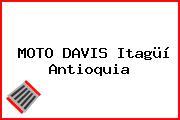 MOTO DAVIS Itagüí Antioquia