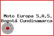 Moto Europa S.A.S. Bogotá Cundinamarca