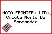 MOTO FRONTERA LTDA. Cúcuta Norte De Santander