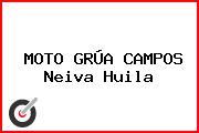 MOTO GRÚA CAMPOS Neiva Huila