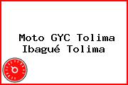 Moto GYC Tolima Ibagué Tolima