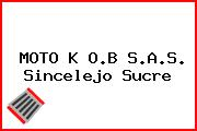 MOTO K O.B S.A.S. Sincelejo Sucre