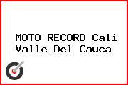 MOTO RECORD Cali Valle Del Cauca